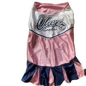 BOGO Free Cheerleader costume for medium size dog